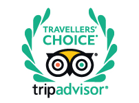 Winner of the Tripadvisor Travellers' Choice Award 2017