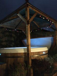 Hot tub pagoda